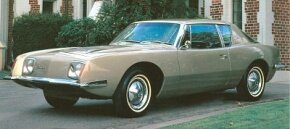The 1964 Studebaker Avanti was little changed from the '63 version, though it now had square headlight bezels.