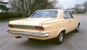 A stronger engine with 235-bhp was available for the 1965 Dodge Dart GT, when finally it lived up to its name.