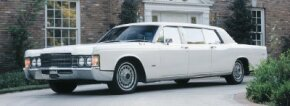 Beginning with a conversion of a 1962 Continental, George Lehmann and Robert Peterson soon became the official suppliers of Lincoln Executive Limousines like this 1969 model.