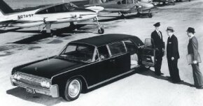 Lehmann and Peterson were contracted by Ford to produce a pair of limos built to 1963 specs for testing.