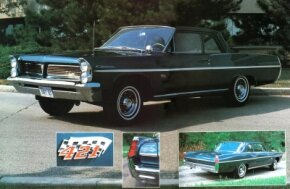 The two-door sport sedan 1963 Catalina was rated at 370 horsepower at 5,200 rpm. See more classic car pictures.