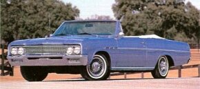For 1965, the Buick Skylark received a mild face-lift.