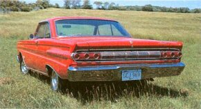 1964 Mercury Comet Cyclones lived up to their name, carrying a standard 225-bhp 289 V-8.