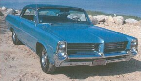 In 1964 2+2 was an option package for the Catalina that boasted bucket seats, console, special interior trim, and subtle exterior badges.