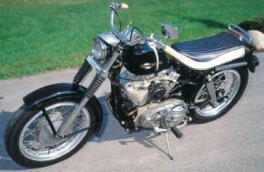 """The Sportster's powerful engine earned it the nickname """"King of the Drags."""" See more motorcycle pictures."""