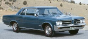 The 1964 Pontiac GTO came in three ways, including this coupe. See more pictures of classic cars.