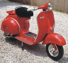The huge American retailer, Sears, sold the 1964 Vespa scooter under its Allstate brand. See more motorcycle pictures.