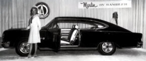 The Black Marlin was the early show car, designed to attract attention to the new nameplate at the spring 1965 auto shows.