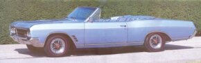This restyled 1966 Skylark Gran Sport convertible design details. See more pictures of Buicks.