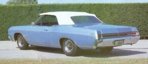 Like its corporate siblings, the 1966 Buick Skylark Gran Sport was new all over.