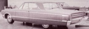 By the start of 1963, the overall look of the 1965 big Dodges was very much in evidence, but the exact look of the planned flagship hardtop was still up in the air.