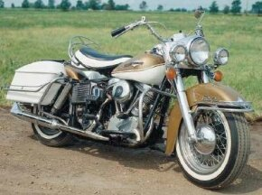 The 1965 Harley-Davidson FL Electra-Glide was the last model fitted with the venerable Panhead engine. See more motorcycle pictures.