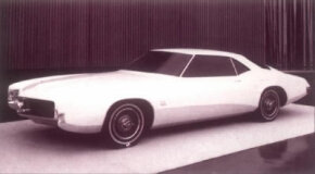 Design continuity was a factor in the development of the 1966 Buick Riviera. It exhibits the 1963-1965 look, but in a sleeker, more exaggerated form. See more classic car pictures.