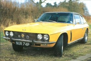 The big news for the early-1970s Jensen Interceptor was that there was a second, more potent model, the SP, here a 1972.