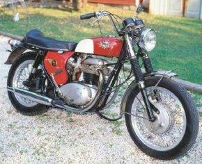 BSA's 650-cc twins were similar in specification, but not in looks, to those offered by Triumph. See more motorcycle pictures.