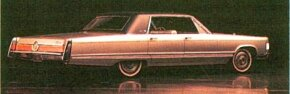 The 1967 Imperial joined other Chrysler products in using a unibody assembly.