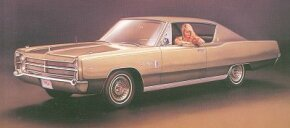 The 1968 Plymouth Sport Furys were changed only in detail.