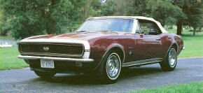 The hottest Chevrolet Camaro in debut '67 was the Super Sport, an option package that included a 295-bhp 350 V-8. See more classic car pictures.