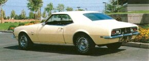 By 1968, competition had heated up to the point that the Chevrolet Camaro engine offerings expanded to include Chevy's big-block 396 with up to 375 bhp.