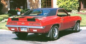 The Chevrolet Camaro would carry on in its signature form into 1970, being replaced by a completely new design at midyear.