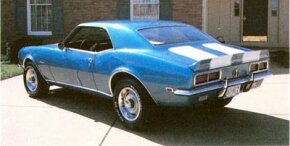 Only 602 of the 1967 Chevrolet Camaro Z-28s were built during its debut season.