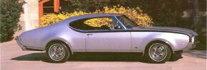All 1968 Hurst/Olds were painted silver with black accents. See more classic car pictures.