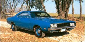 A swoopy second-generation Dodge Charger debuted in 1968. See more classic car pictures.