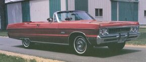 The Sport Fury and VIP still led Plymouth's line in 1969, though their popularity was waning.