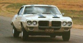The 1969 Pontiac Firebird Trans Am was little more than an optional appearance package for the 1969 Firebird 400 models.