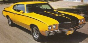 The 1970 Buick GSX is perhaps the most famous muscle car that Buick built. See more muscle car pictures.