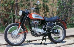 The 1970 Ducati 350 Scrambler was quick despite lacking Ducati's desmodromic valvetrain. See more motorcycle pictures.