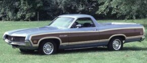 The 1970 Ford Ranchero Squire featured simulated wood siding and could be optioned with as many creature comforts as most midsize cars. See more classic truck pictures.