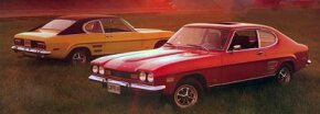 The Capri had a compact, flowing profile and shared styling cues with the Mustang.