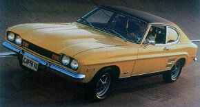 Calendar-year sales of the Capri in America topped 90,000 in 1972, the year a 2.6-liter V-6 was first offered.