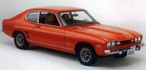 Among the external changes ordained for the 1973 Capri was a stouter front bumper.