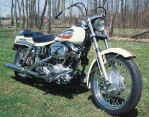 The 1971 Harley-Davidson FX Super Glide was created by using a combination of pieces from two popular Harley models. See more motorcycle pictures.
