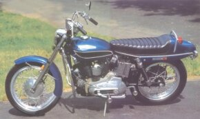 The 1971 Harley-Davidson XLH Sportster was offered in colors such as Sparkling Turquoise. See more motorcycle pictures.