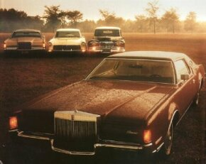 The Lincoln Continental was reincarnated in the 1970s as a luxury personal coupe. See more classic car pictures.