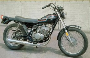 The Harley-Davidson SS-250 was the largest two-stroke single-cylinder street bike Harley offered. See more motorcycle pictures.
