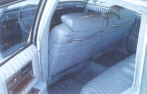The Seville's stretched X-body platform opened up more rear-seat leg room.