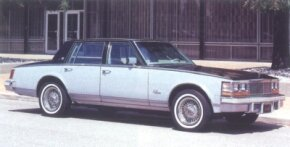 New for 1978 was the Elegante decor option. External features included a choice of two two-tone paint schemes, a brushed chrome upper bodyside molding, and chromed wire wheels.