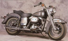 The 1978 Harley-Davidson FLHS Electra-Glide debuted with a lean, stripped-down look. See more motorcycle pictures.