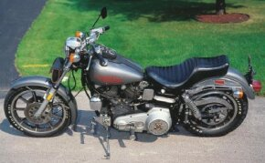"The first Low Rider featured the frame and engine from the FL-series ""Big Twins"" supported by the front end of the smaller XL Sportster models."