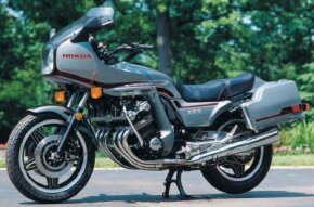 The CBX's smooth engine provided effortless cruising at speeds above 100 miles per hour. See more motorcycle pictures.