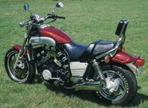 The V-Max was introduced in 1985, discontinued for a couple of years, then made a comeback in the late 1980s.
