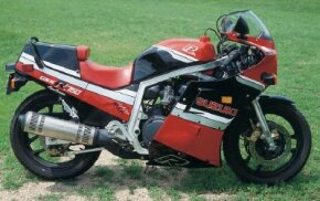 The 1986 Suzuki GSXR750 represented a quantum leap forward for Suzuki. See more motorcycle pictures.
