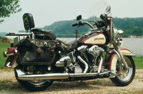 "The 1988 FLSTC set new standards for Harley's ""Back to the Future"" models."