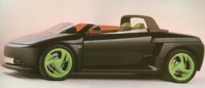 Image Gallery: Concept Cars The 1989 Plymouth Speedster concept car was a cross between a car and a motorcycle. See more concept car pictures.