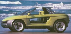 Pontiac executives hoped the 1989 Pontiac Stinger concept car would appeal to the highly coveted 18 to 25 year-old demographic.