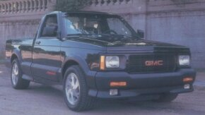 Fast enough to embarrass most muscle cars of its day, the 1991-1992 GMC Syclone had 280 turbocharged horsepower and all-wheel drive. See more classic truck pictures.